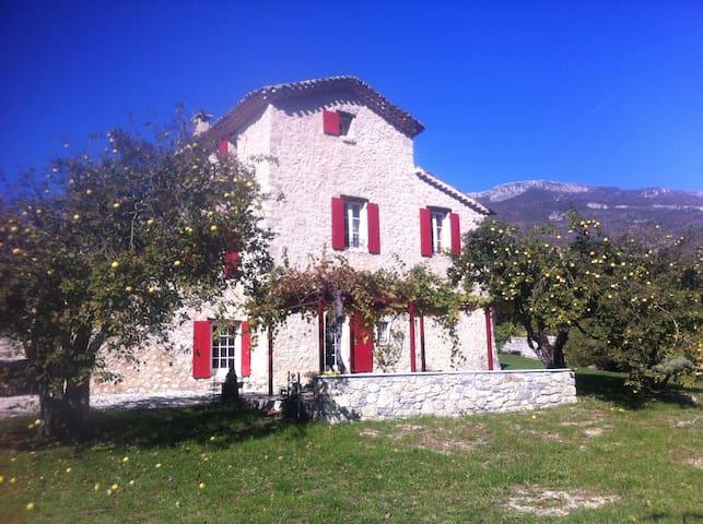 Saint Antonin - Saint-Vincent-sur-Jabron - Dům