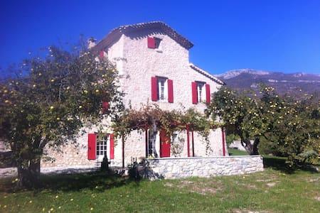 Saint Antonin - Saint-Vincent-sur-Jabron - Rumah