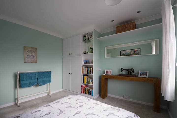 Double room in recently refurbished house.