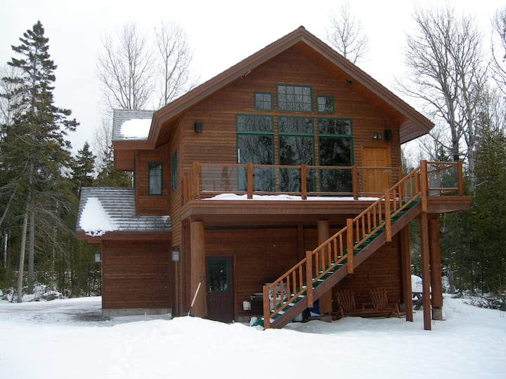 Secluded Luxury on Lake Superior