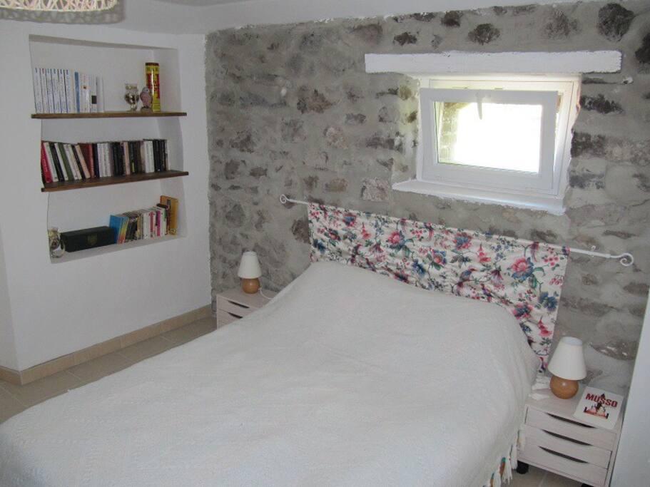 2 chambres fraiches en rez de jardin