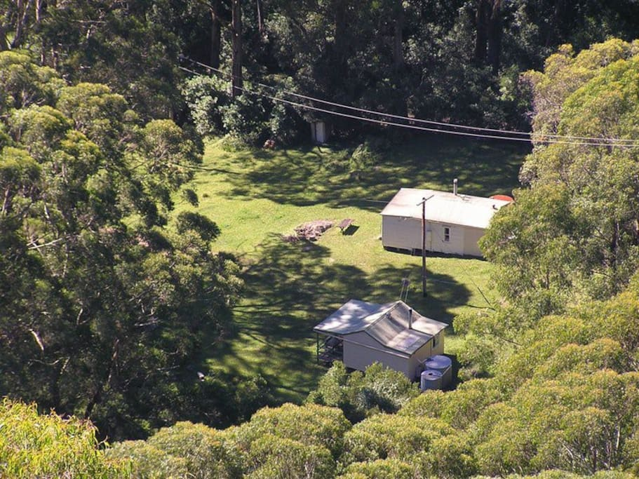 Cabins 2 & 3 from above