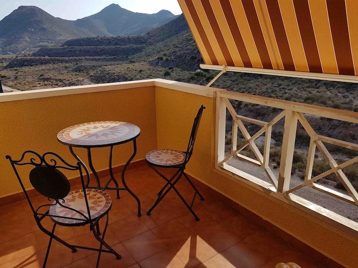 Apartment in Cabo de Palos with sea views