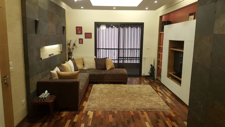 Broumana fully furnished, mountain view appartment