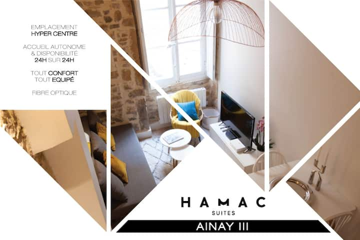 NEW !⭐️HAMAC Suites III⭐️Lyon Ainay (hyper centre)