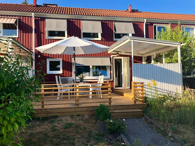 Cosy townhouse, close to nature and City Center