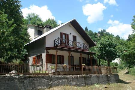 peacefull house in pindos mountain - Drosochori