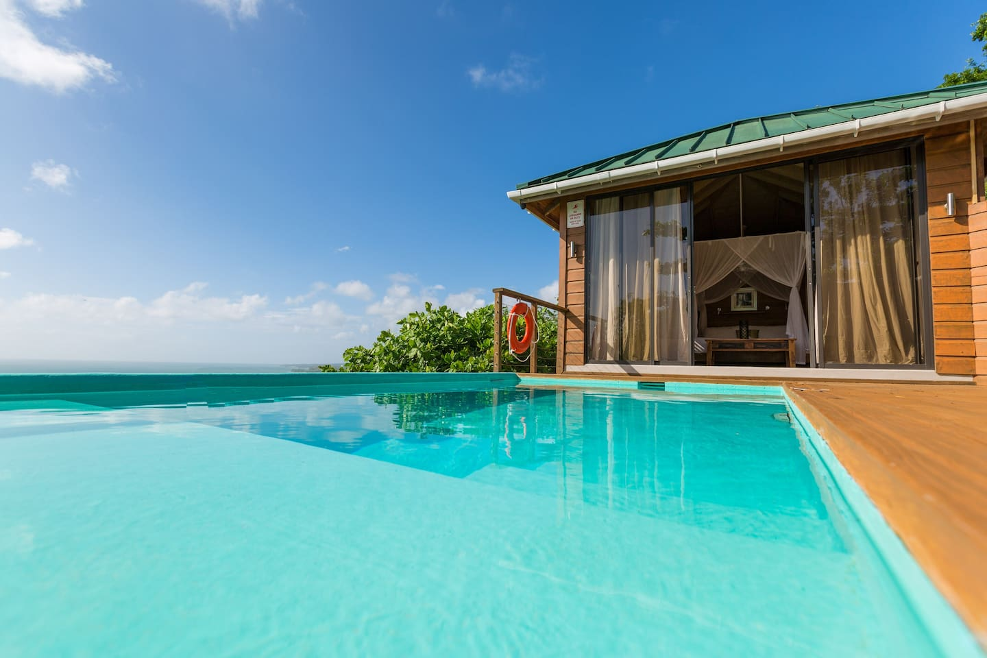 Refreshing and inviting, your private plunge pool