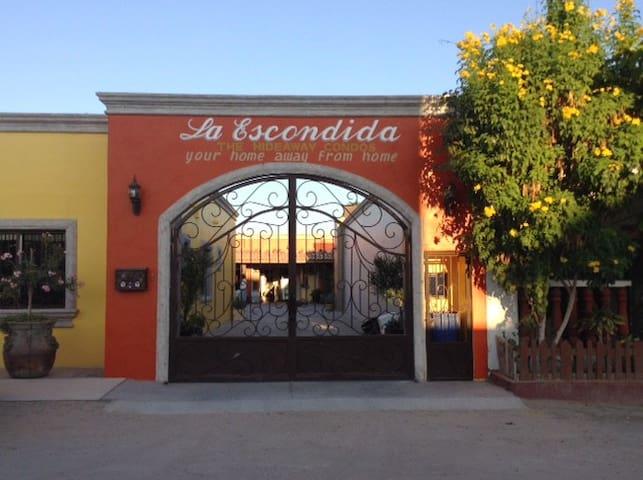The hideaway condos,  La Escondida