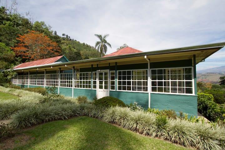 Unique Antique  Coffee Farm House