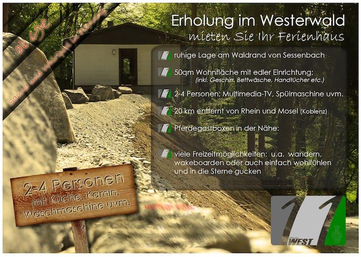 Ferienhaus Refugium mit Whirlpool und Sauna