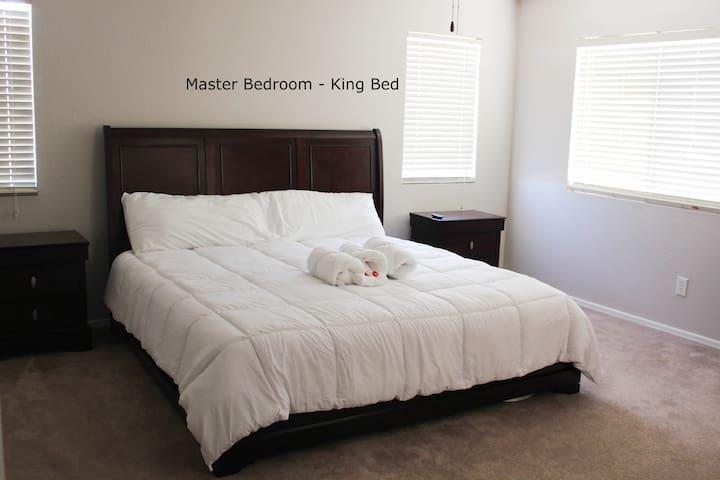 Comfy, Cozy King Bed