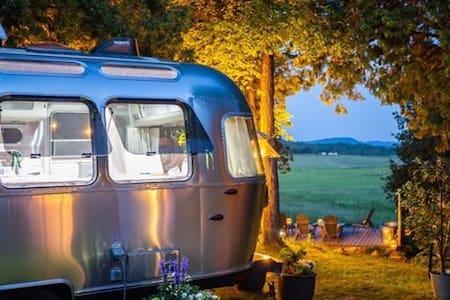 Vive la différence!  Innovative Airstream Luxury