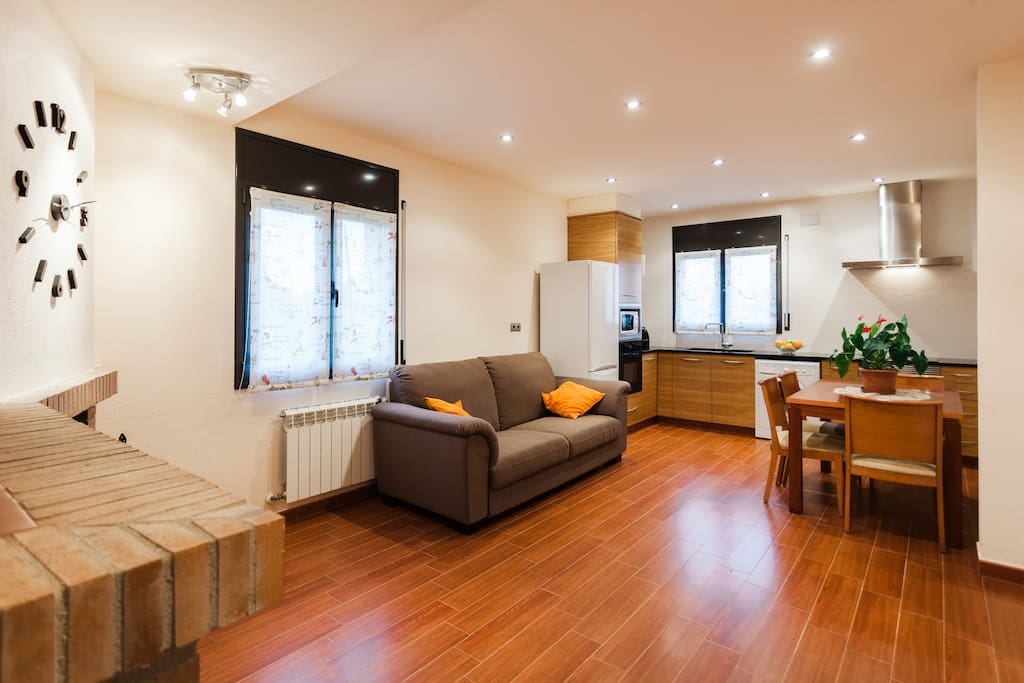 Cuina-menjador * Living room