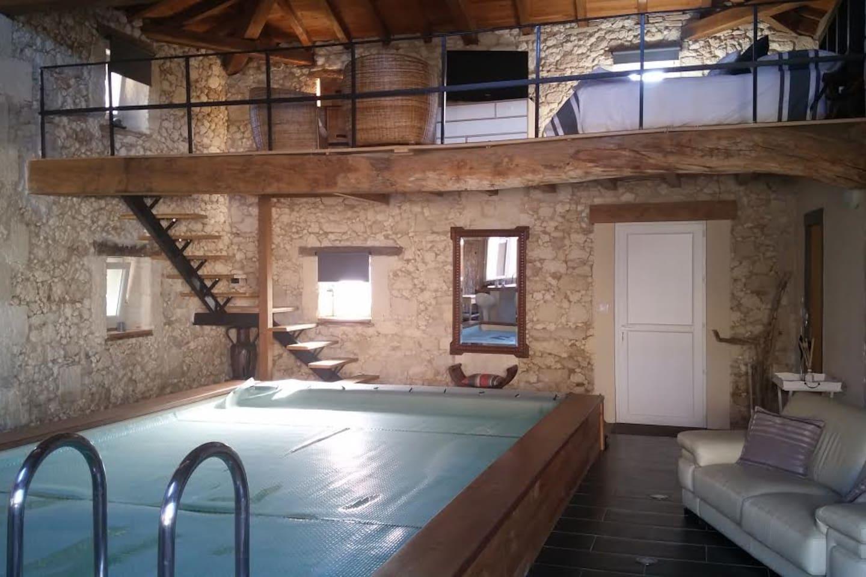 Emejing interieur maison pierre contemporary awesome - Maison pierre et acier de style contemporain en australie ...