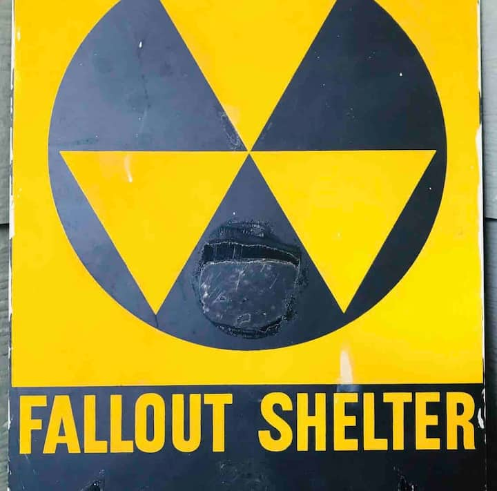THE FALLOUT SHELTER - 100 Yr Old Catholic school!!