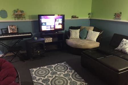 Private Studio Style Basement Paradise - Harrisburg