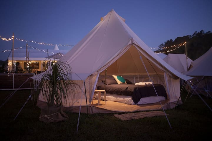 Waterfront Glamping Experience (2) - Fraser Coast - Burrum River - เต็นท์