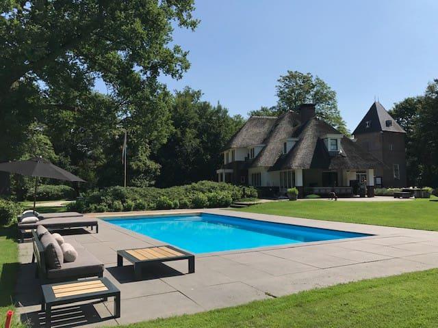 Luxe villa voor ultieme ontspanning in elk seizoen