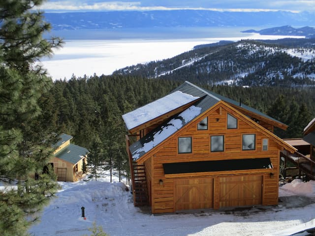 New Flathead Lake Mountain Retreat - Somers - Domek gościnny