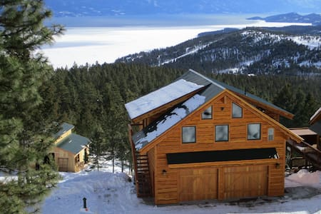 New Flathead Lake Mountain Retreat - Somers