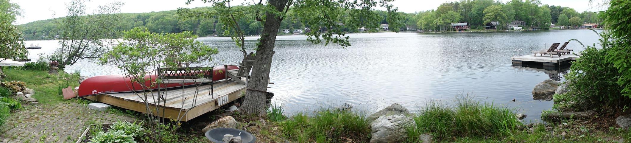 Kittatinny Lakeside Retreat - Branchville - Maison