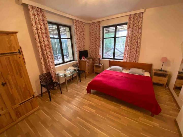 Apartments 2 in a historic villa. M/tr, 10m/center