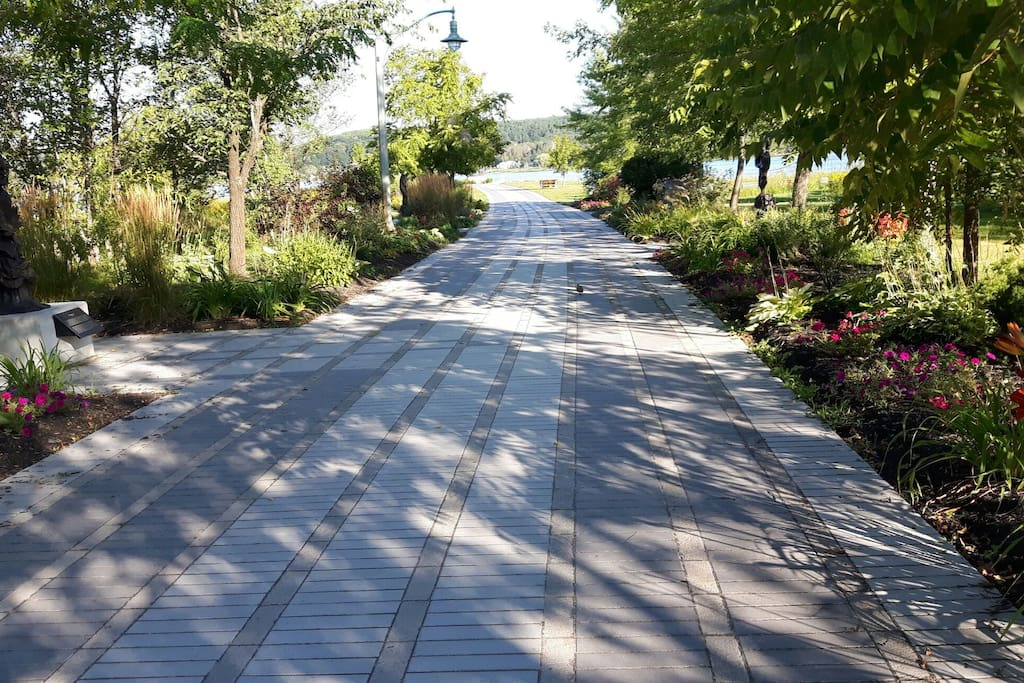 Tranquil  walking trails