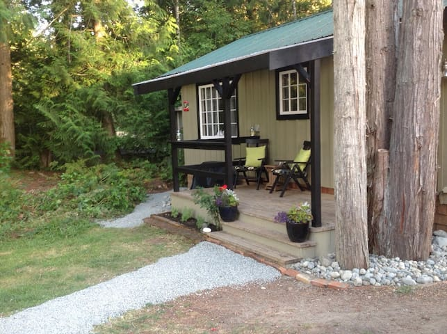 Trail's End cottage by the lake - Shawnigan Lake - Cabaña