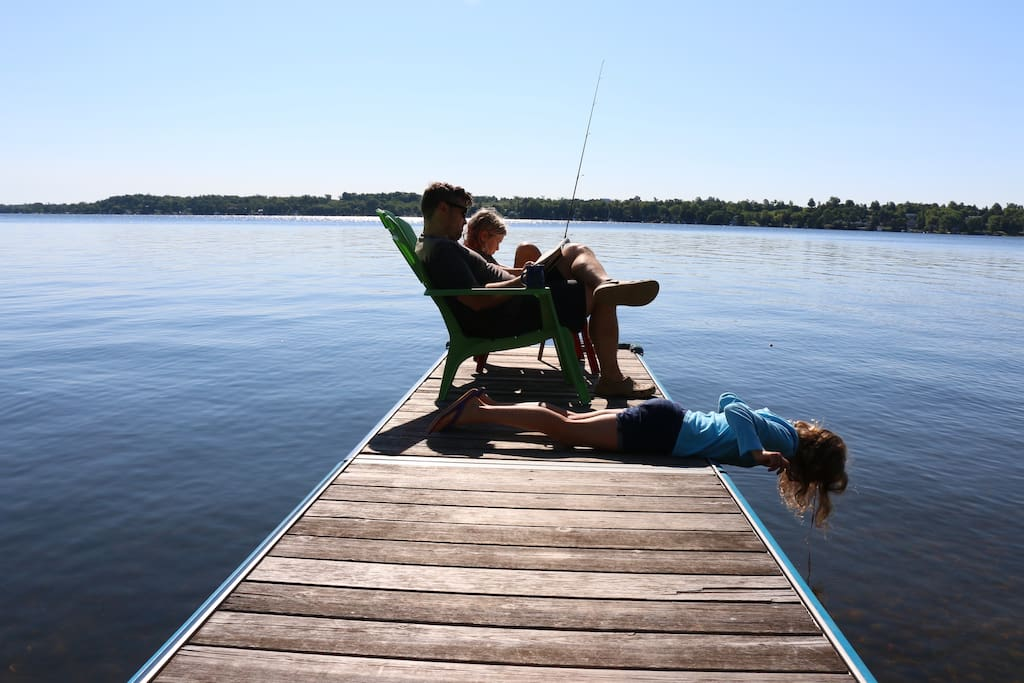 Waterfront Sturgeon Lake Cottage Cottages For Rent In Kawartha Lakes Ontario Canada