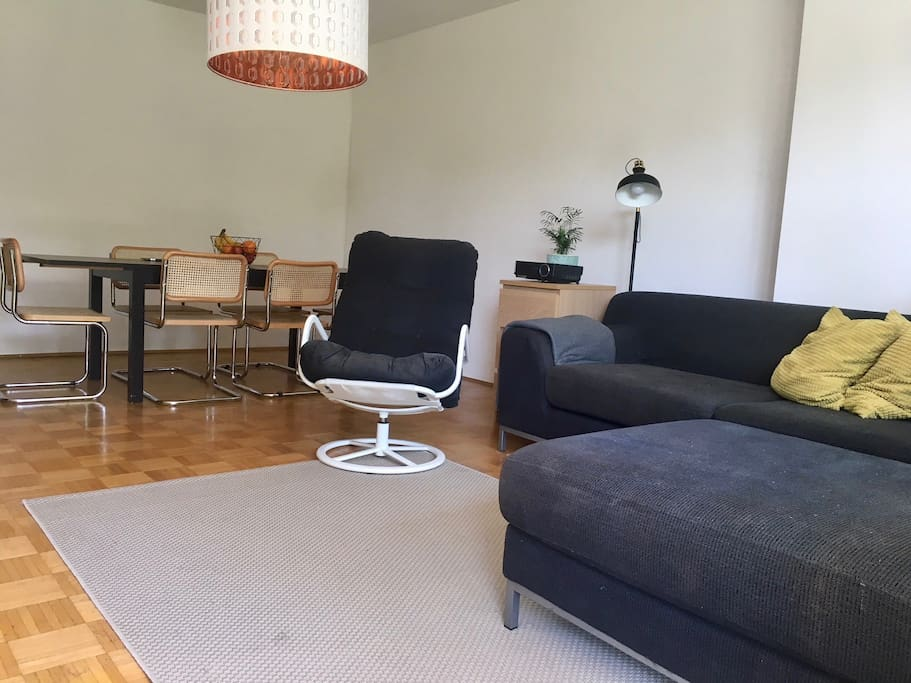 Living room with dinning table