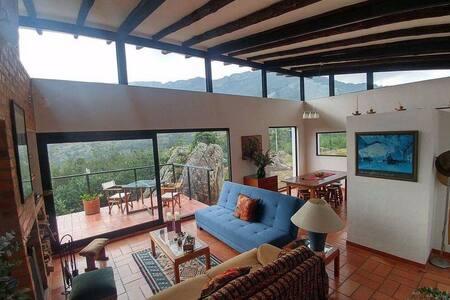 Farallones de Sutatausa El Rincon Casa Moderna