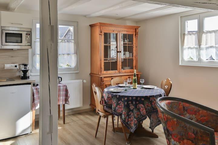 Le Roseau gîte dans Maison Alsacienne Rénovée