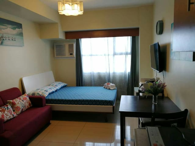JON BEN furnished studio,Horizons 101 Condominium