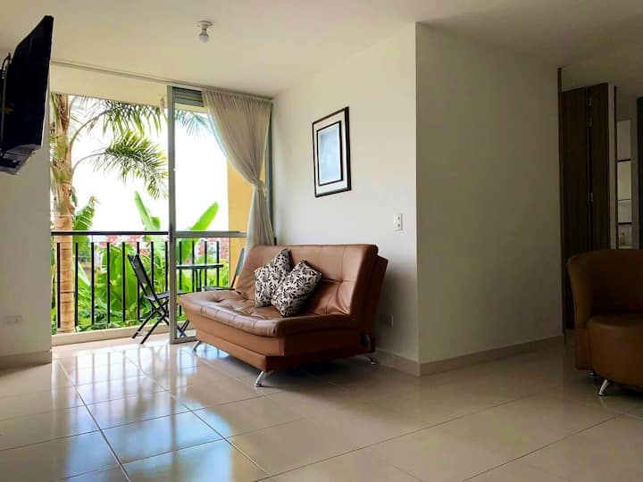 Full furnished apartment near airport in Pereira