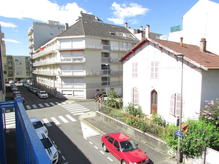Studio et son balcon proche centre ville