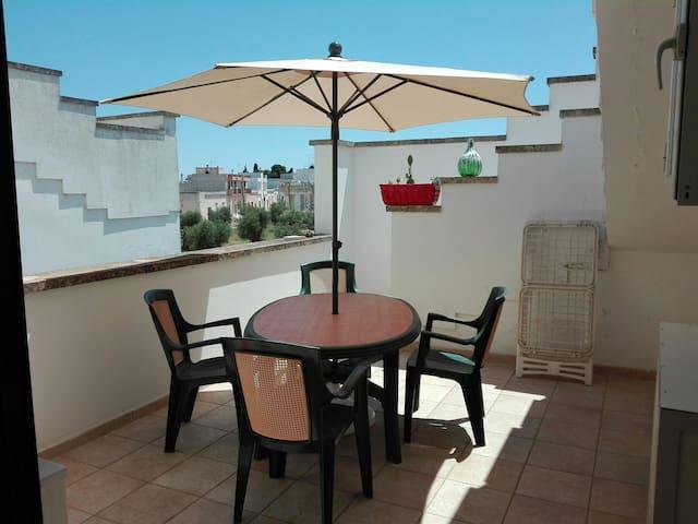 Spaziosa casa  6 posti 3 km dalla costa di Otranto