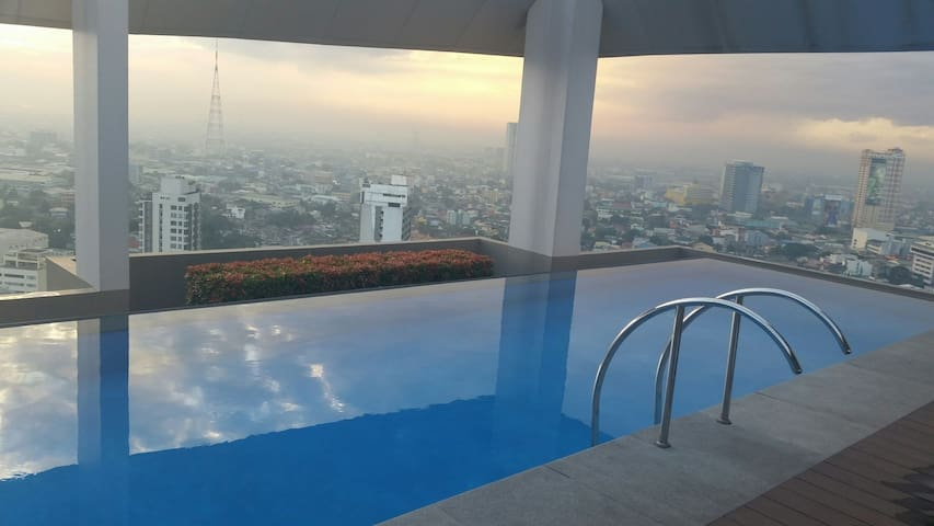 Early Morning at the Infinity Pool