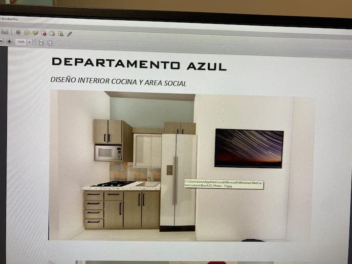 Nuevo departamento en zona residencial