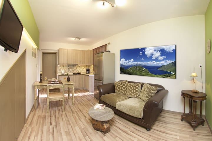 """""""Orchid"""" One bedroom Apart with garden"""
