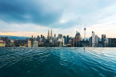 Nice Infinity Pool in Kuala Lumpur - Kuala Lumpur - Lejlighed