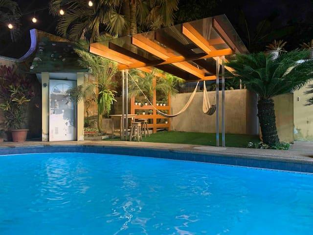 Casita linda con piscina en Santo Domingo