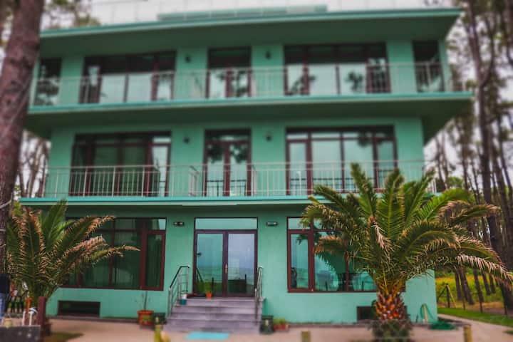 Green House Shekvetili -  Seafront Studio