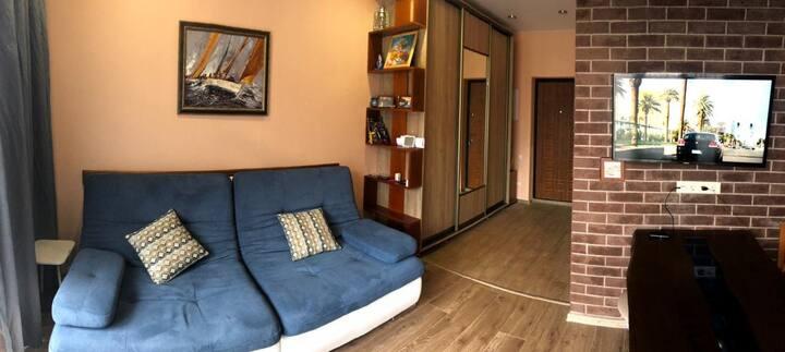 2х комнатная квартира  на Красной поляне в Сочи.