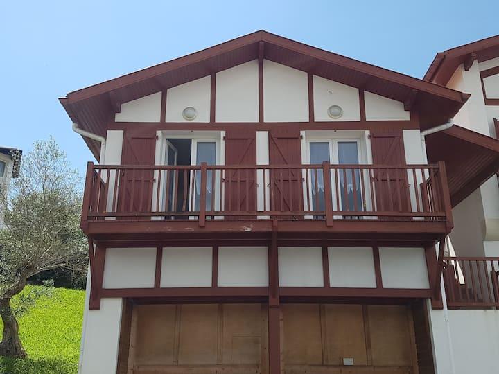 Maison basque à  Socoa baie st jean de luz 5pers