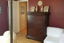Princess Room Chest of Drawers and Dressing Chair