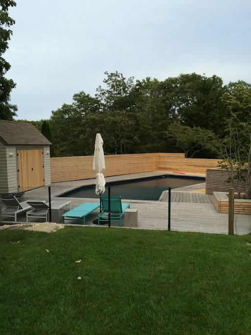 Pool and decks