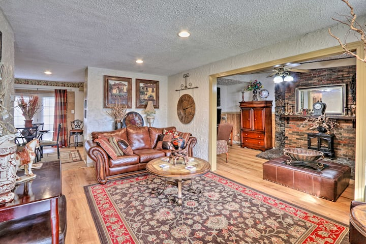 NEW! Memphis Getaway Just 4 Miles From Graceland!