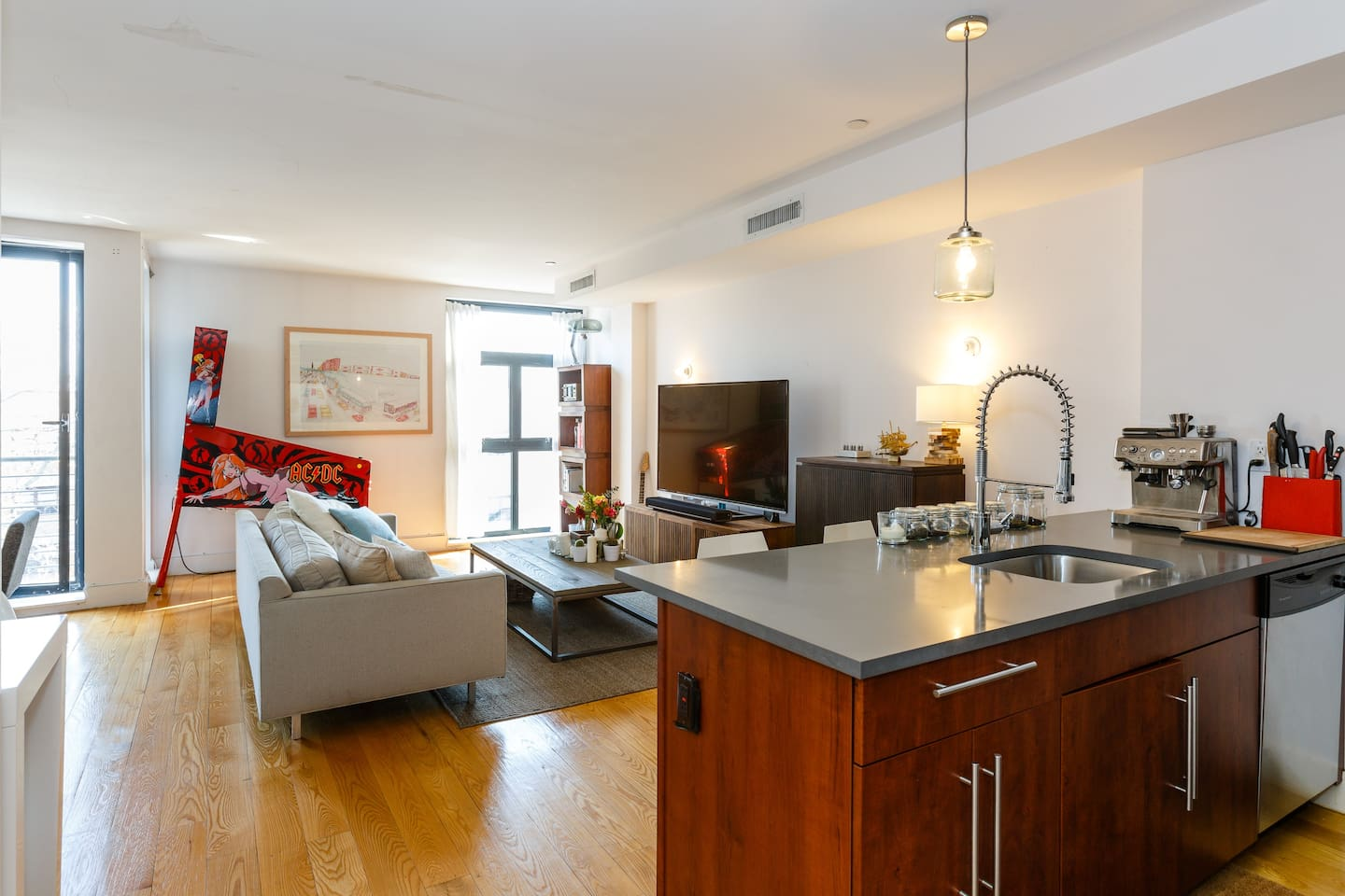 """The apartment is very large by NYC standards.  Mary reviews: """"What a wonderfully pleasant surprise! Accommodations exactly as pictured and described. Neat as a pin, spacious, and plenty of privacy. """""""