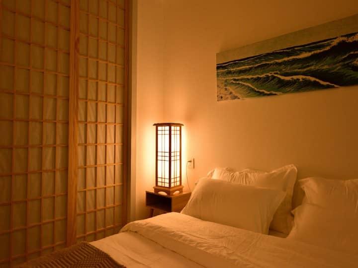 日式投影大床房